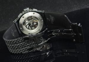 ビッグバン ブラックマジック ダイヤベゼル 301.CV.130.RX.114 保証書付 【委託時計】