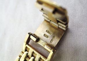 ボーム&メルシェ レディース時計 K18金無垢 12Pダイヤ&ベゼルダイヤ 総重量50g 【委託時計】
