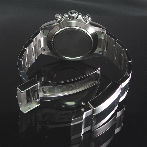 デイトナ 116520 黒 ランダム 2011年 美品 フル駒 【中古時計】