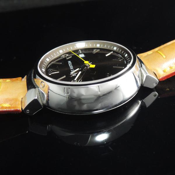 タンブール Q1111 メンズ QZ 革ベルト