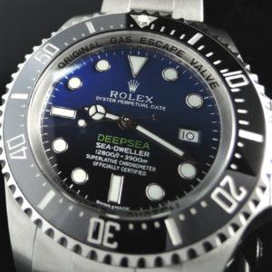 シードウェラーディープシー 116660 Dブルー 【新品時計】