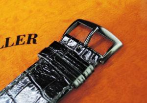FRANCK MULLER 6000K SC DT NR マスタースクエア キング オリジナルPVD WGx革 25本限定 【委託時計】