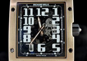 RICHARD MILLE RM016 18KPGxラバー 保証書有