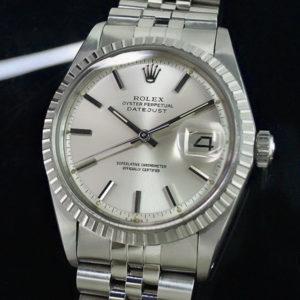 ROLEX デイトジャスト 1603 3番台 シルバーダイヤル メンズ腕時計 自動巻