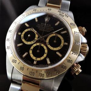 デイトナコンビ 16523 日本ロレックス保証書有 【中古時計】 【委託時計】