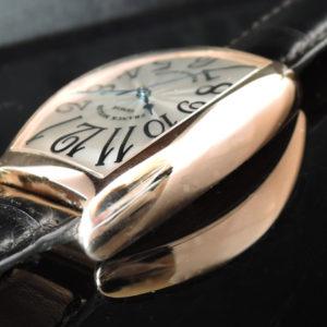トノウ・カーベックス 5850SC PGx革 中古時計
