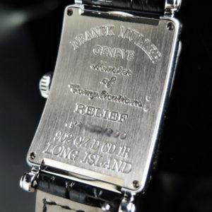 FRANCK MULLER 902QZ ロングアイランド レリーフ 2重ダイヤ