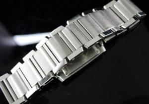 Cartier タンクフランセーズMM W51011Q3 SSxSS クオーツ 付属品有 【委託時計】