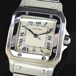 Cartier サントスガルベMM クオーツデイト 【委託時計】
