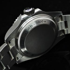 シードウェラー ディープシー 116660 黒 付属品完備 美品 【委託時計】