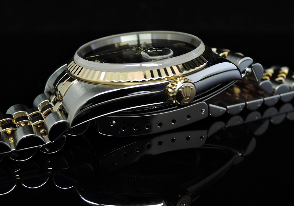 デイトジャスト 16233 2BR Y番 K18YGxSS 2Pダイヤ 付属品完備 美品