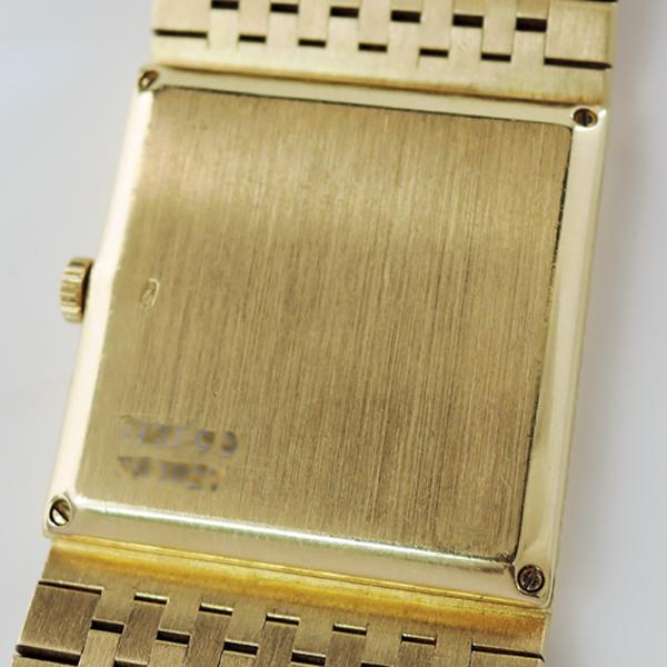 PLAGET K18YG 金無垢腕時計 【中古時計】
