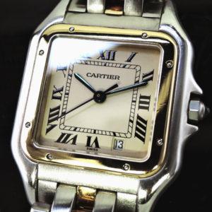 Cartier パンテールMM コンビ クオーツ YGxSS 【委託時計】