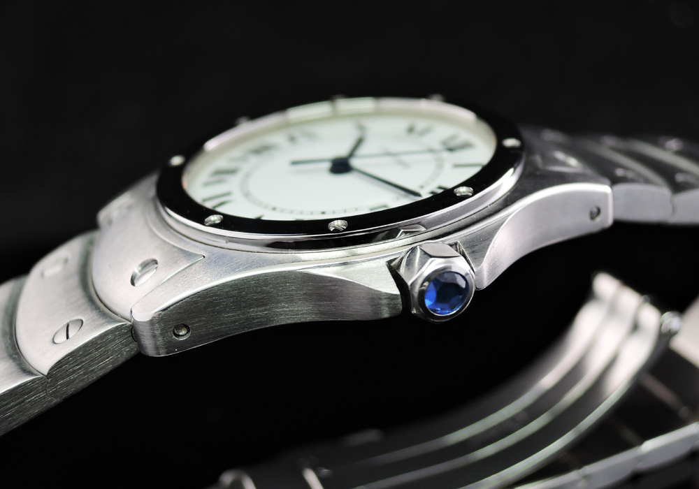 Cartier クーガ ボーイズ SSxSS クオーツ 研磨済
