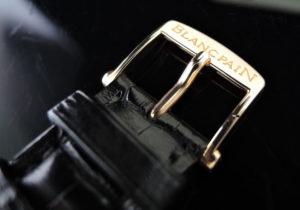 BLANCPAIN 23850029 レマン フライバッククロノ 8Pダイヤxダイヤベゼル 18KYGx革 【委託時計】