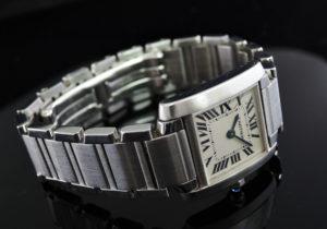Cartier タンクフランセーズSM クオーツ 【委託時計】