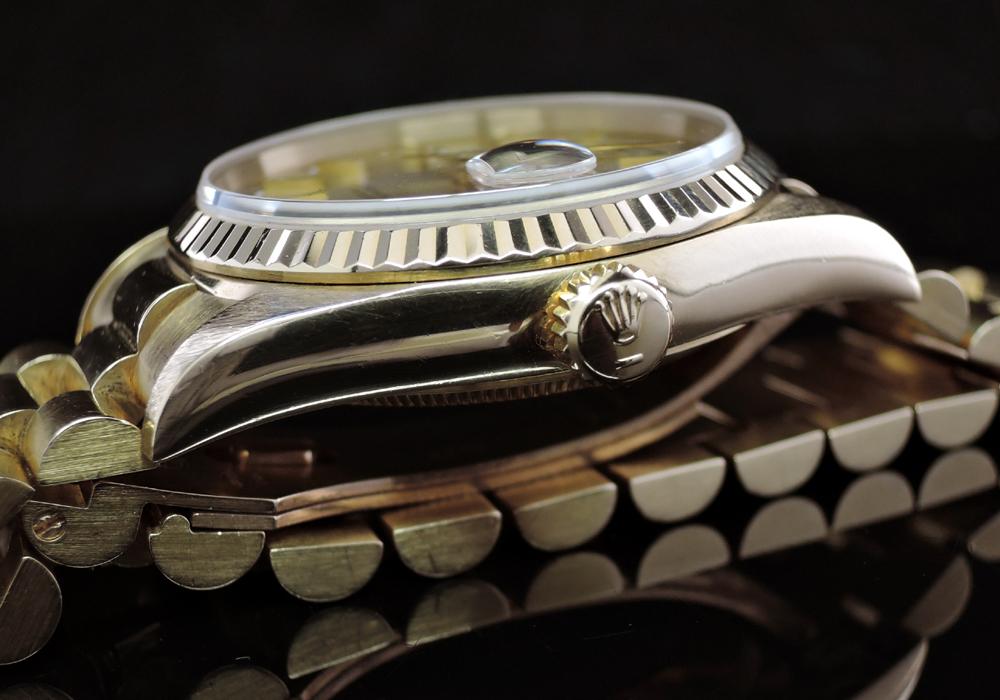 ROLEX デイデイト 18238 N番 18KYG無垢 付属品有 【委託時計】