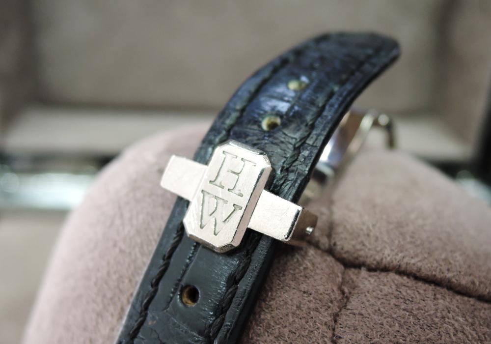 HARRY WINSTON アヴェニュー トラフィック 340/LQWL.WD/00 付属品完備