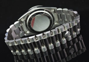 ROLEX デイデイト 18239 L番 18KWG シルバーダイヤル