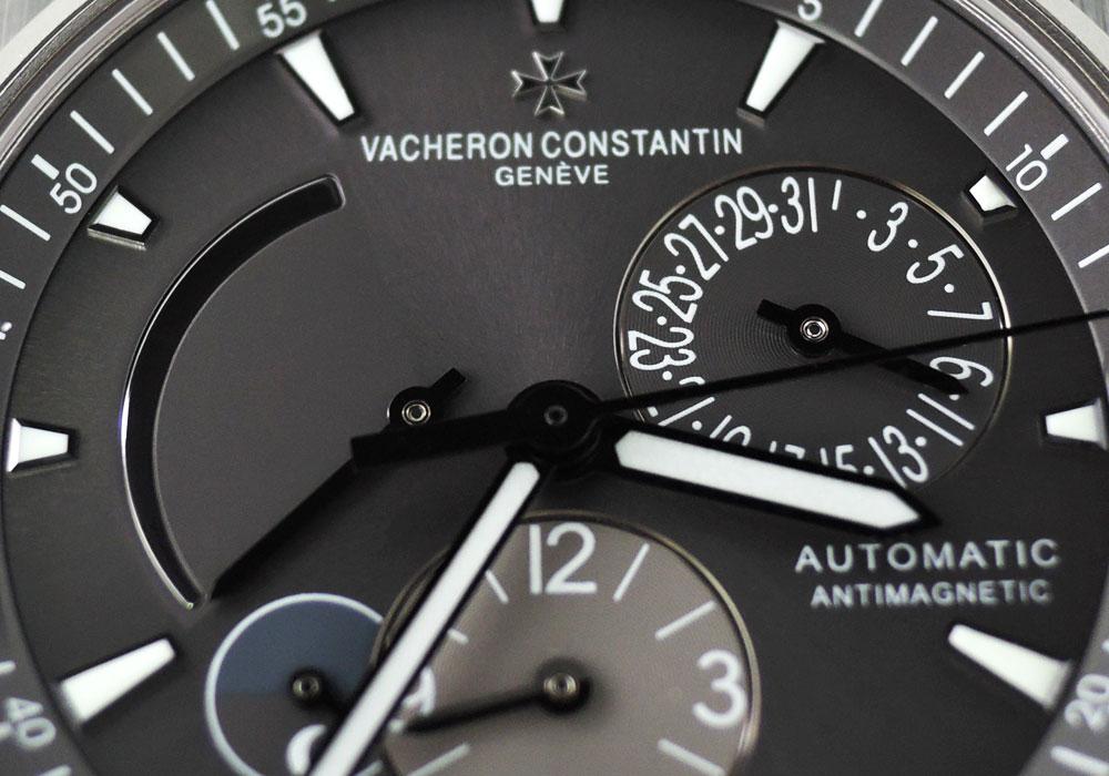 VACHERON CONSTANTIN オーバーシーズデュアルタイム 47450 TIx革 保証書有 【委託時計】
