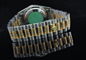 ROLEX デイデイト 18239A BIC A番 シャンパン コンビ 10Pダイヤ  cz3649