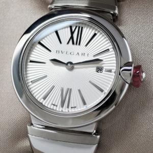 BVLGARI ルチェア LU28C6SSD 保証書有 レディース時計 未使用品