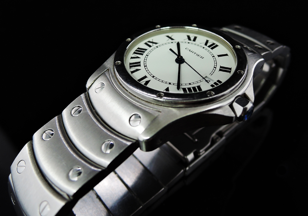 Cartier クーガ ボーイズ SSxSS 【委託時計】