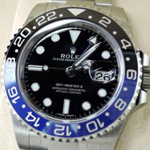 新品 ROLEX GMTマスター2 116710BLNR 青黒ベゼル 保証書有 保護シール付