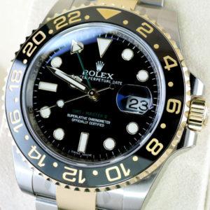 新品 ROLEX GMTマスター2 116713LN コンビ 保証書有 保護シール付