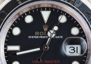 新品  ROLEX ヨットマスター40 116655 ランダム品番 K18PG 保証書有 保護シール付