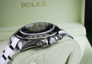 ROLEX デイトナ 116520 黒 ランダム品番 SS 保証書有