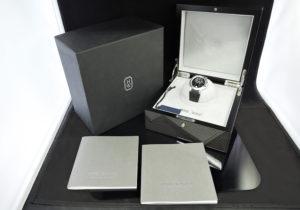 HARRY WINSTON オーシャンバイレトログラード400UABI36 18KWG 保証書有 研磨仕上げ済