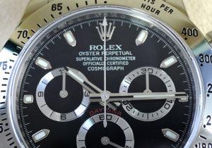 ROLEX デイトナ 116520 ランダム 黒 日ロレ正規 保証書有 2014/5 未使用品