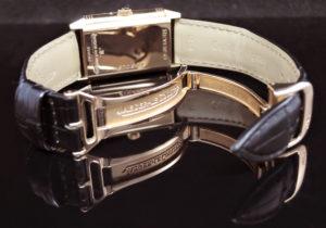レベルソ ナイト&デイ サンムーン パワーリザーブ Q2752420 270.2.63 18KPGx革 手巻 スケルトン