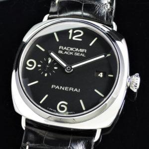 PANERAI ラジオミール PAM00388 保証書有 SSx革 【委託時計】