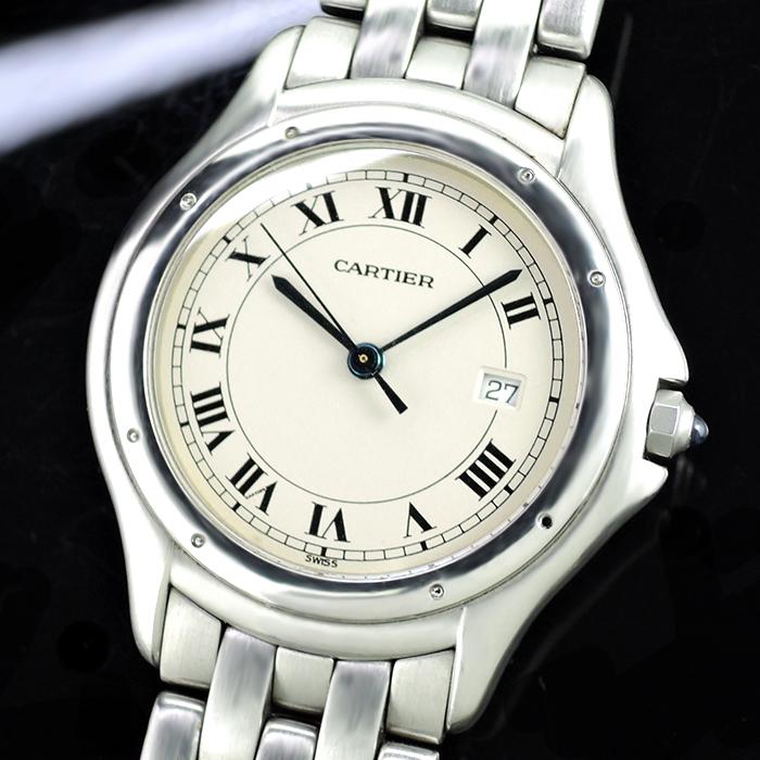 Cartier クーガ ボーイズ SSxSS クオーツ時計 【委託時計】