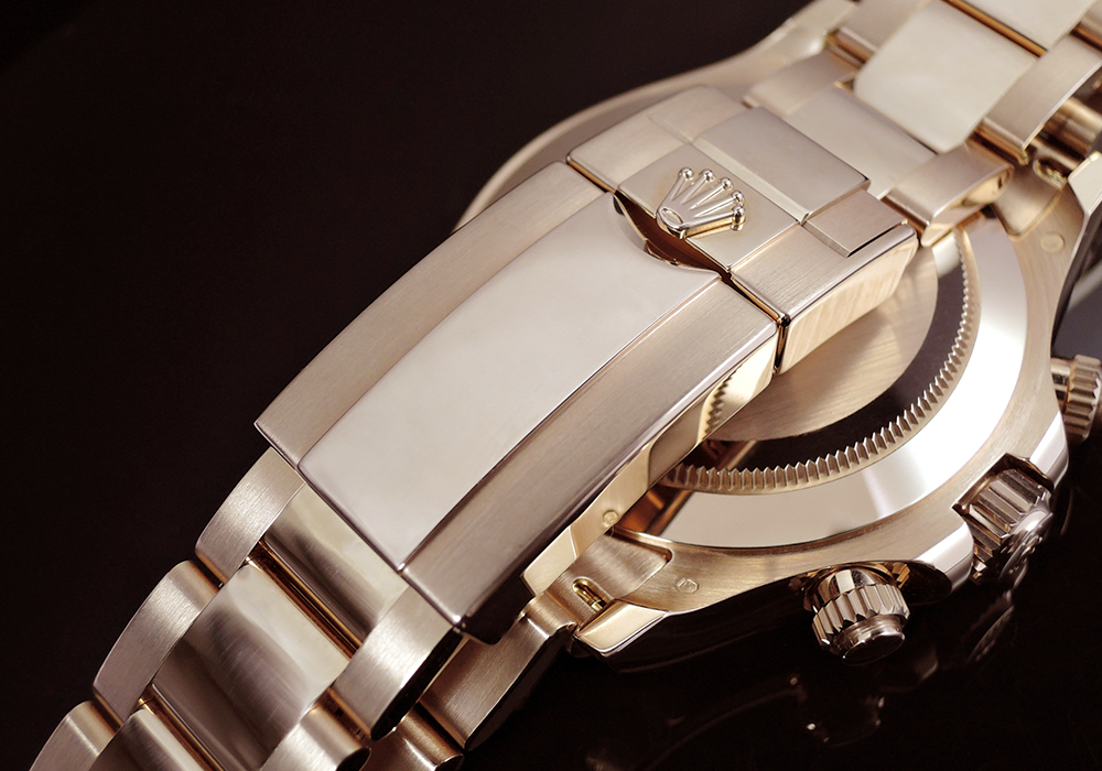 ROLEX デイトナ116505 ランダム ブラウン 18KPG無垢 保証書有 国内正規 日本ロレックス正規品