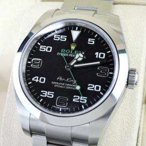 新品 ROLEX 116900 オイスターパーペチュアル エアキング 国内正規品