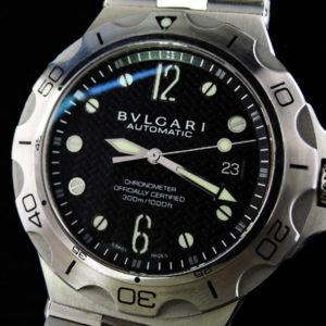 BVLGARI  ディアゴノスクーバ DP42SSD ダイバーズ 自動巻
