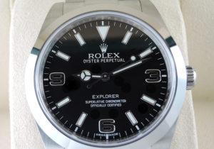 ROLEX エクスプローラーⅠ 214270 ランダム 保証書有