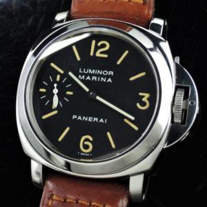 PANERAI ルミノールマリーナ PAM00001 A品番 SSx革 保証書有 【委託時計】