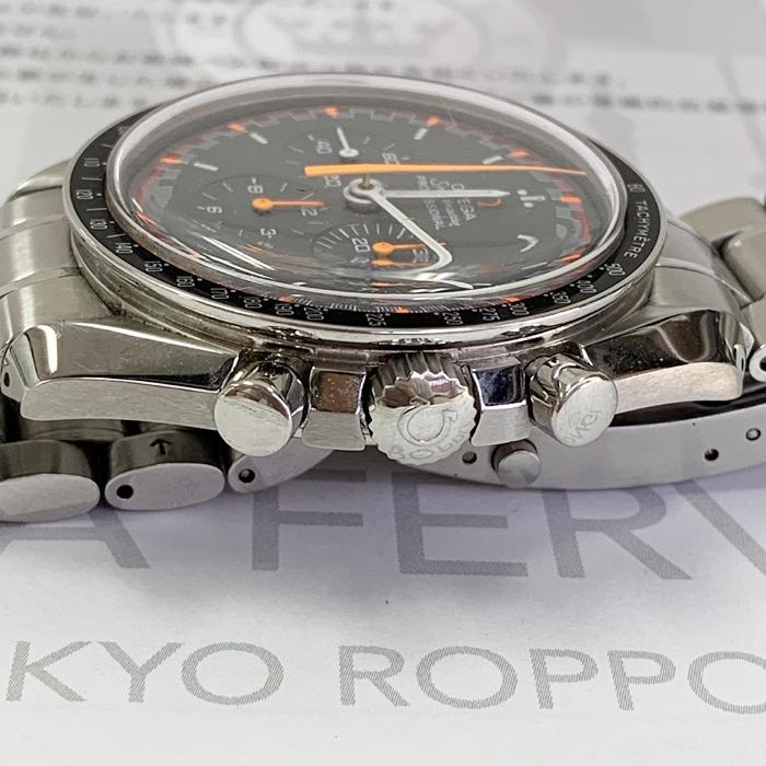 オメガOMEGA スピードマスター 3570.40 プロフェッショナル ムーンウォッチ ジャパンレーシング 42.0mm クロノグラフ 手巻 黒文字盤 J4682