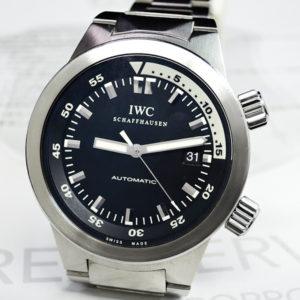 アクアタイマー IW354805 メンズ腕時計 自動巻 保証書有 【委託時計】