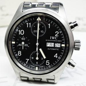 メカニカルフリーガ IW370607 クロノグラフ 保証書有 【委託時計】