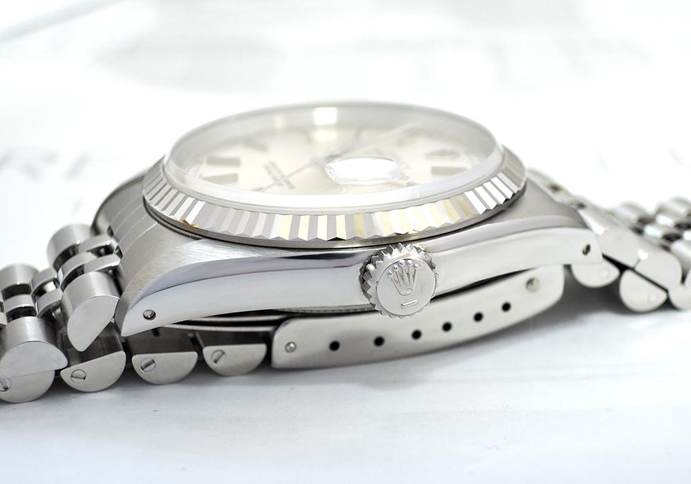 ROLEX デイトジャスト 16234 L番 WGxSS シルバー文字盤 未使用品 デットストック 【委託時計】