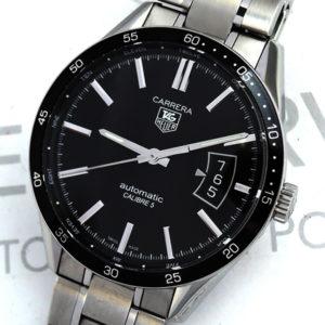 TAG HEUER カレラ Carrera WV211M キャリバー5 メンズ腕時計 自動巻 保証書有 【委託時計】