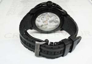 ROGER DUBUIS パルジョン クロノグラフ DBPU0005 チタン スケルトン 自動巻 保証書有 【委託時計】