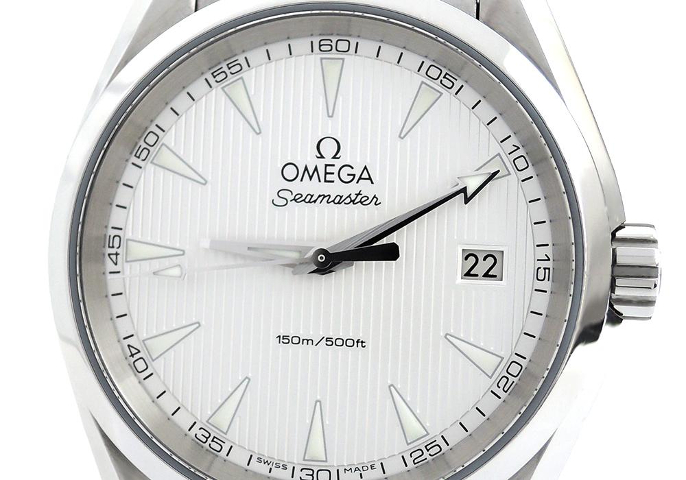 OMEGA シーマスター アクアテラ 231.10.39.60.02.001 クォーツ メンズ 保証書有 【委託時計】
