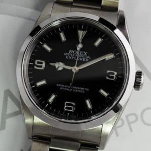 ROLEX エクスプローラーⅠ14270 A番 保証書有 【委託時計】