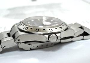 ROLEX エクスプローラ2 16570 Y番 黒文字盤 保証書有 【委託時計】